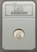 Barber Dimes: , 1916 10C MS65 NGC. NGC Census: (143/46). PCGS Population (105/50). Mintage: 18,490,000. Numismedia Wsl. Price for problem f...