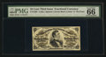 Fractional Currency:Third Issue, Fr. 1295 25¢ Third Issue PMG Gem Uncirculated 66 EPQ.. ...