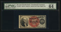 Fractional Currency:Fourth Issue, Fr. 1303 25¢ Fourth Issue PMG Choice Uncirculated 64 EPQ.. ...