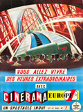 "Movie Posters:Documentary, This is Cinerama (Cinerama Europe 1, 1961). French Grande (46"" X 61"").. ..."