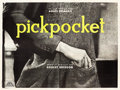 "Movie Posters:Drama, Pickpocket (Compagnie Cinematographie de France, 1959). FrenchPoster (94"" X 126"").. ..."