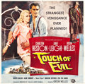 "Movie Posters:Film Noir, Touch of Evil (Universal International, 1958). Six Sheet (79.5"" X80.5"").. ..."