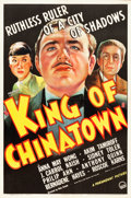 """Movie Posters:Thriller, King of Chinatown (Paramount, 1939). One Sheet (27"""" X 41"""").. ..."""