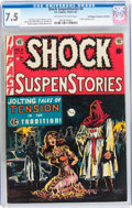 Golden Age (1938-1955):Horror, Shock SuspenStories #6 Don/Maggie Thompson Collection pedigree (EC,1952) CGC VF- 7.5 Off-white to white pages....