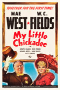 "Movie Posters:Comedy, My Little Chickadee (Universal, 1940). One Sheet (27"" X 41"") StyleC.. ..."