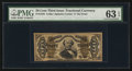 Fractional Currency:Third Issue, Fr. 1334 50¢ Third Issue Spinner PMG Choice Uncirculated 63 EPQ.. ...