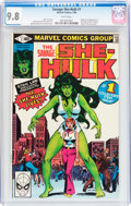 Modern Age (1980-Present):Superhero, The Savage She-Hulk #1 (Marvel, 1980) CGC NM/MT 9.8 White pages....