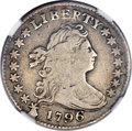 Early Dimes, 1796 10C JR-1, R.3 -- Obverse Scratched -- NGC Details. Fine....