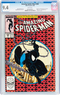 Modern Age (1980-Present):Superhero, The Amazing Spider-Man #300 (Marvel, 1988) CGC NM 9.4 Whitepages....