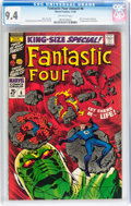 Silver Age (1956-1969):Superhero, Fantastic Four Annual #6 (Marvel, 1968) CGC NM 9.4 Off-white pages....