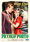 "Movie Posters:Drama, Primrose Path (Zeus, Late 1940s). First Post-War Release Italian 2- Foglio (39.5"" X 55"").. ..."