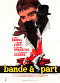 """Movie Posters:Foreign, Bande à Part (Columbia, 1964). French Grande (46"""" X 63"""").. ..."""