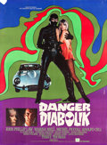 "Movie Posters:Crime, Danger: Diabolik (Paramount, 1968). French Grande (45.5"" X 62"")....."