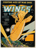 Golden Age (1938-1955):War, Wings Comics #16 (Fiction House, 1941) Condition: FN+....