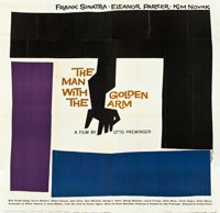 "The Man with the Golden Arm (United Artists, 1955). Six Sheet (81"" X 81"")"