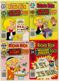 Bronze Age (1970-1979):Cartoon Character, Richie Rich Digest Winners/Million File Copy Long Box Group(Harvey, 1970s-80s) Condition: Average NM-....