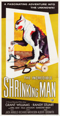 "Movie Posters:Science Fiction, The Incredible Shrinking Man (Universal International, 1957). ThreeSheet (40"" X 79.5"").. ..."
