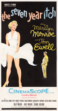 "Movie Posters:Comedy, The Seven Year Itch (20th Century Fox, 1955). Three Sheet (41.5"" X78.5"").. ..."