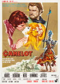 "Movie Posters:Musical, Camelot (Warner Brothers-Seven Arts, 1968). Italian 4 - Foglio (55""X 78"").. ..."