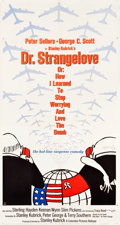 "Movie Posters:Comedy, Dr. Strangelove or: How I Learned to Stop Worrying and Love theBomb (Columbia, 1964). Three Sheet (41.75"" X 78"") Day-Glo St..."