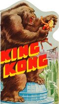 "Movie Posters:Horror, King Kong (RKO, 1933). Herald (4"" X 7"" closed, 4"" X 16"" opened)....."