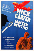 """Movie Posters:Mystery, Nick Carter, Master Detective (MGM, 1939). One Sheet (27"""" X 41"""")....."""