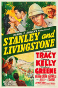 "Movie Posters:Adventure, Stanley and Livingstone (20th Century Fox, 1939). One Sheet (27"" X 41"") Style A.. ..."