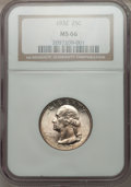 Washington Quarters: , 1932 25C MS66 NGC. NGC Census: (89/2). PCGS Population (205/3).Mintage: 5,404,000. Numismedia Wsl. Price for problem free ...