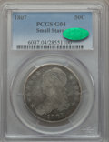 Bust Half Dollars: , 1807 50C Small Stars Good 4 PCGS. CAC. PCGS Population (1/108). NGCCensus: (0/0). Numismedia Wsl. Price for problem free ...