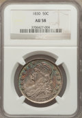 Bust Half Dollars: , 1830 50C Small 0 AU58 NGC. NGC Census: (397/453). PCGS Population(233/316). Mintage: 4,764,800. Numismedia Wsl. Price for ...