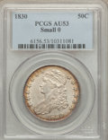 Bust Half Dollars: , 1830 50C Small 0 AU53 PCGS. PCGS Population (132/809). NGC Census:(104/845). Mintage: 4,764,800. Numismedia Wsl. Price for...