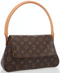 Luxury Accessories:Bags, Louis Vuitton Classic Monogram Canvas Mini Looping Bag. ...