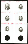 Miscellaneous:Other, American Bank Note Company President Portrait Specimens and More..... (Total: 37 items)