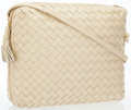 Luxury Accessories:Bags, Bottega Veneta Opalescent Intrecciato Napa Leather Shoulder Bag....