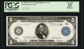 Large Size:Federal Reserve Notes, Fr. 855a* $5 1914 Federal Reserve Note PCGS Apparent Very Fine 25.. ...