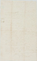 Autographs:Non-American, Writ of Execution in the Reign of William IV. September 23, 1830.Folded, with some separation and toning to creases. Very g...