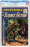 Golden Age (1938-1955):Science Fiction, Incredible Science Fiction #31 (EC, 1955) CGC VG/FN 5.0 Off-whitepages....