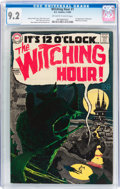 Silver Age (1956-1969):Horror, The Witching Hour #1 (DC, 1969) CGC NM- 9.2 Off-white to white pages....