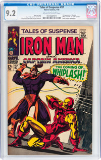 Tales of Suspense #97 (Marvel, 1968) CGC NM- 9.2 Off-white to white pages