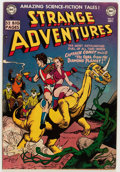 Golden Age (1938-1955):Science Fiction, Strange Adventures #12 (DC, 1951) Condition: FN/VF....