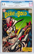 Silver Age (1956-1969):Adventure, The Brave and the Bold #18 Silent Knight and Viking Prince (DC, 1958) CGC FN- 5.5 Light tan to off-white pages....