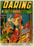 Golden Age (1938-1955):Superhero, Daring Mystery Comics #2 (Timely, 1940) Condition: Apparent FN....