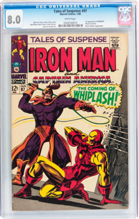 Tales of Suspense #97 (Marvel, 1968) CGC VF 8.0 White pages