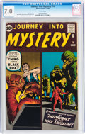 Silver Age (1956-1969):Horror, Journey Into Mystery #74 (Marvel, 1961) CGC FN/VF 7.0 Whitepages....