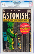 Silver Age (1956-1969):Horror, Tales to Astonish #34 (Marvel, 1962) CGC FN/VF 7.0 Cream tooff-white pages....