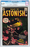 Silver Age (1956-1969):Horror, Tales to Astonish #33 (Marvel, 1962) CGC FN 6.0 Off-white to whitepages....