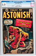 Silver Age (1956-1969):Horror, Tales to Astonish #25 (Marvel, 1961) CGC VG/FN 5.0 Light tan tooff-white pages....