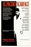 """Movie Posters:Crime, Scarface (Universal, 1983). One Sheets (2) (27"""" X 39.5"""" & 27"""" X 41"""") Advance.. ... (Total: 2 Items)"""