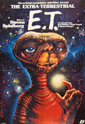 """Movie Posters:Science Fiction, E.T. The Extra-Terrestrial (Polfilm, 1984). Polish One Sheet (26"""" X38"""").. ..."""