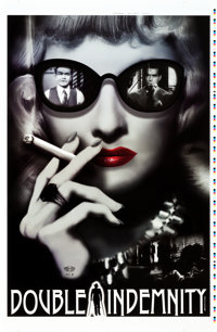 """Double Indemnity (Zoetrope Galleries, R-2014). Signed Limited Edition Artist's Proof Poster (26"""" X 40"""")"""